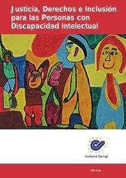 Justicia, Derechos e Inclusión para las Personas con Discapacidad Intelectual