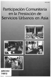 Participación Comunitaria en la Prestación de Servicios Urbanos en ...