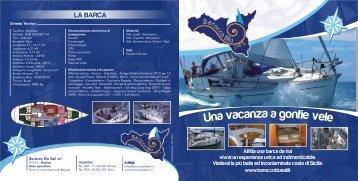 Volantino - Barocco Blu Sail srl Modica