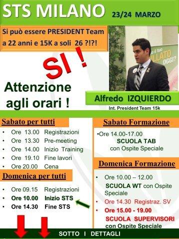 STS MILANO 23/24 MARZO - HL Brescia