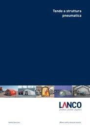 Tende a struttura pneumatica - LANCO