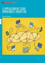le applicazioni nel cloud: opportunità e prospettive - Telecom Italia