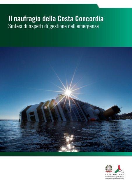 Il naufragio della Costa Concordia. Sintesi di aspetti - Dipartimento ...