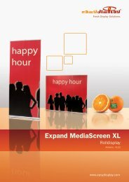 Expand Mediascreen XL - Easydisplay.com