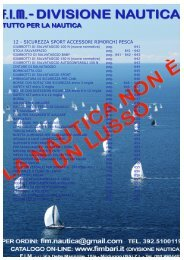 12 - SICUREZZA SPORT ACCESSORI RIMORCHI PESCA - Fimbari.It