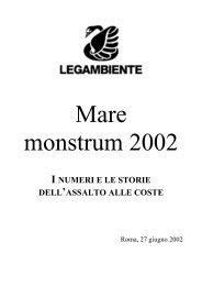mare monstrum 2002 - Legambiente