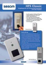 HFS Classic - Sesam - Elektronische Sicherheitssysteme GmbH