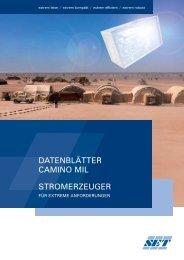 Camino MIL Katalog - Stange Energietechnik GmbH