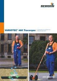 VARIOTEC 460 Tracergas - Le spécialiste de la ... - Sewerin