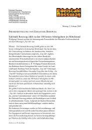 Edelstahl Rosswag zählt zu den 100 besten Arbeitgebern im ...