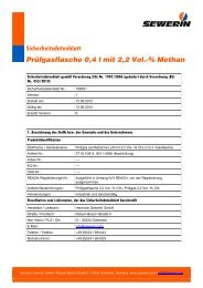 Methan, 2,2 Vol. - Sewerin