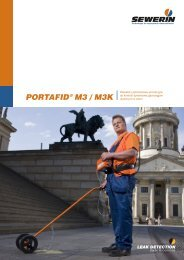 PORTAFID® M3 / M3K - Sewerin