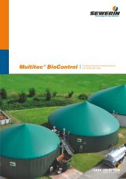 Multitec BioControl - Combined stationary measuring ... - Sewerin