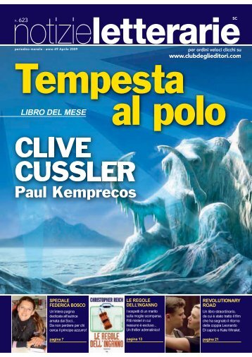 Catalogo Notizie Letterarie n. 623 Aprile 2009 - Euroclub
