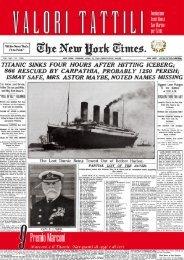 Premio Marconi Marconi e il Titanic. Naviganti di oggi ... - Asset Banca