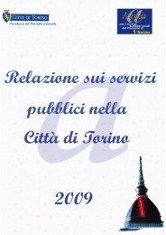 relazione dell'Agenzia - Città di Torino
