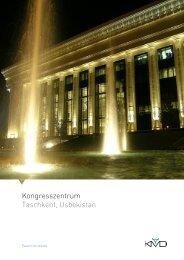 Kongresszentrum Taschkent, Usbekistan