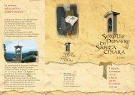 presentazione monastero.pdf - Clarisse, sorelle povere di s. Chiara