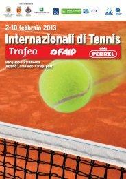 Brochure - ATP Challenger Bergamo