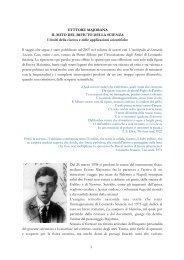 Ettore Majorana: il mito del rifiuto della scienza - Liceo Giulio Cesare