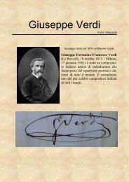 Giuseppe Verdi - GiornalinoH