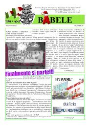 B BELE - Istituto Statale di Istruzione Superiore Luigi Salvatorelli