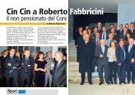 Cin Cin a Roberto Fabbricini - CUSI