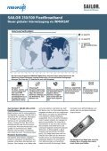 SAILOR 250/500 Fleetbroadband Neuer globaler ... - Ferropilot - Seite 2