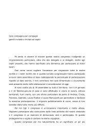 Scarica la relazione introduttiva di Gloria Bertoldi - Congresso - Flc ...