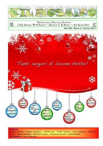 il Mosaico Natale 2011 - ITAS Di Sangro e ITG alberti San Severo ...