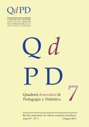 qdpd n 7.pdf - Collegio San Giuseppe - Istituto De Merode