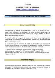Le regole per la circolazione dei veicoli sulle isole minori italiane