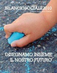 Bilancio Sociale 2010 - CO&SO Firenze