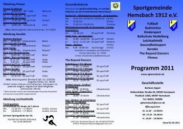 Flyer SG_2011_Stand 27.04.2011 - Sportgemeinde Hemsbach ...