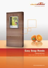 Easy Snap Rondo - Easydisplay.com