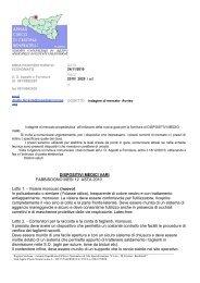 carta intestata CANNIZZARO - Ospedale Civico di Palermo