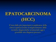 EPATOCARCINOMA (HCC) - laprimapietra - Altervista