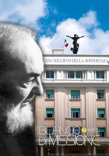 Bilancio di Missione 2010-2011 - L'Opera di Padre Pio