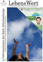 LebensWert, Ausgabe 3 - MPG Max Planck Gymnasium