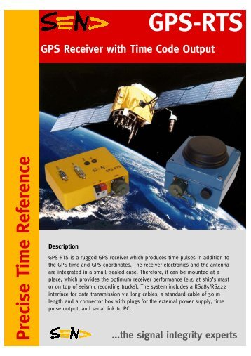 PDF GPS-RTS Brochure (245kB) - SEND Off-Shore Electronics GmbH