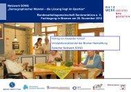 Netzwerk SONG - Bundesarbeitsgemeinschaft Seniorenbüros e.V.