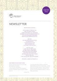 Newsletter | Winter 2012 - Shanti Leprahilfe