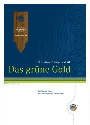 Download PDF (4305 KB) - ShareWood Switzerland AG