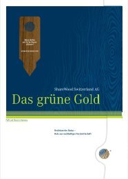 Das grüne Gold - ShareWood
