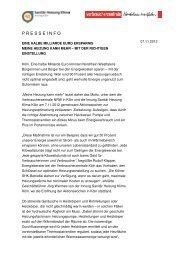 Meine Heizung kann mehr - Innung Sanitär Heizung Klima Köln
