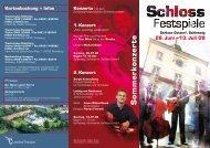 Sommerkonzerte - Schleswig-Holsteinisches Landestheater und ...