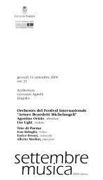 Orchestra del Festival Internazionale