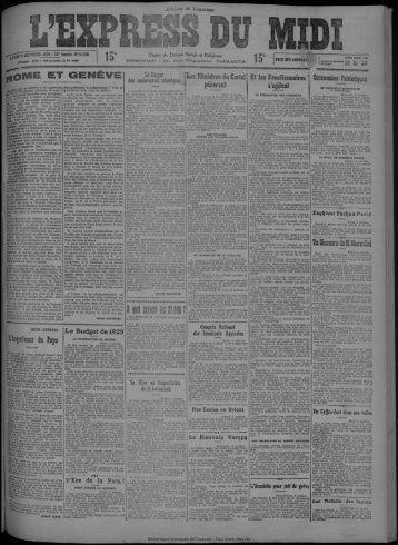 """Q OCTOBRE 1924 - 33e Année -N° 11.538 15* 15 e"""" SoME ET ..."""