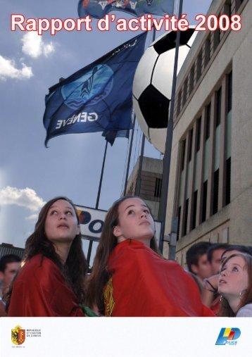 Rapport d'activité 2008 - Etat de Genève