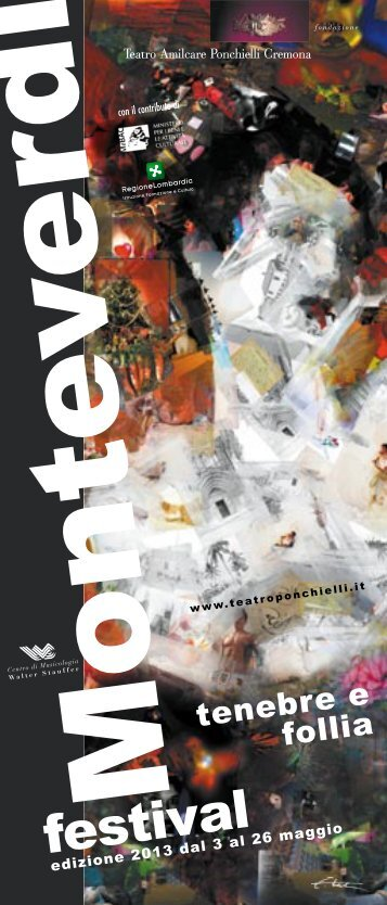 copertina festival - Teatro A. Ponchielli